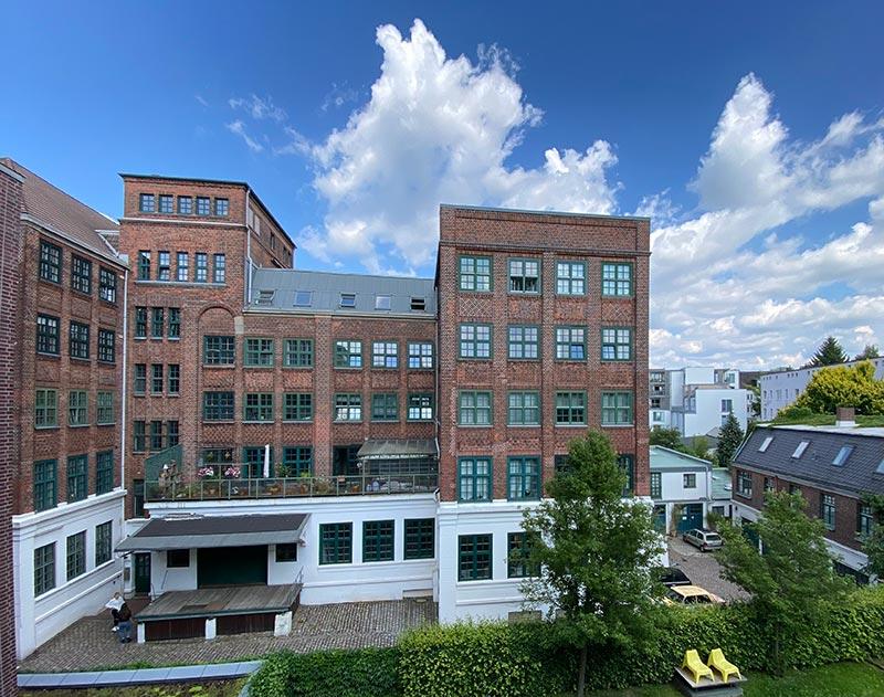 Office der Alstergold Marketingberatung in Hamburg Winterhude